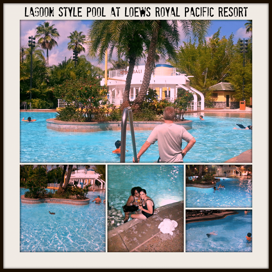Loews Royal Pacific pool for guests only