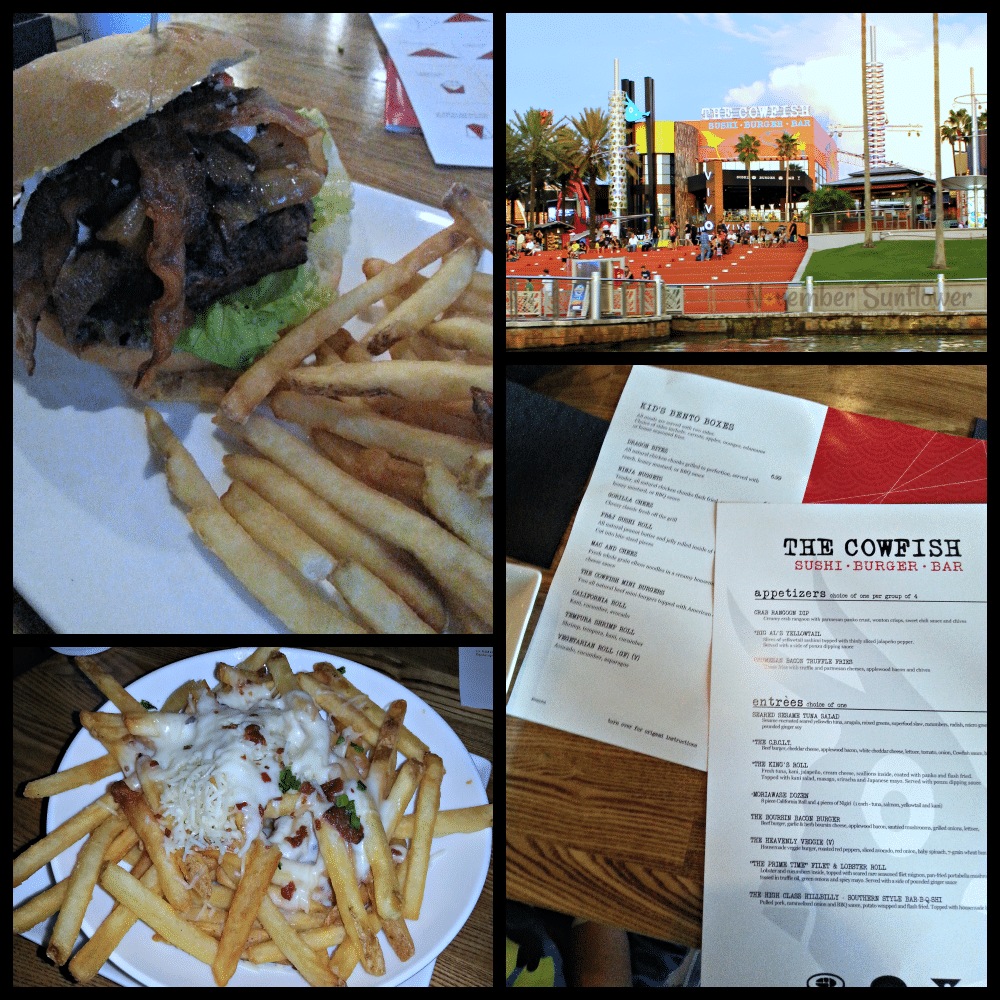 The Cowfish at CityWalk #cowfish #citywalk #diningatuniversal #universalmoments
