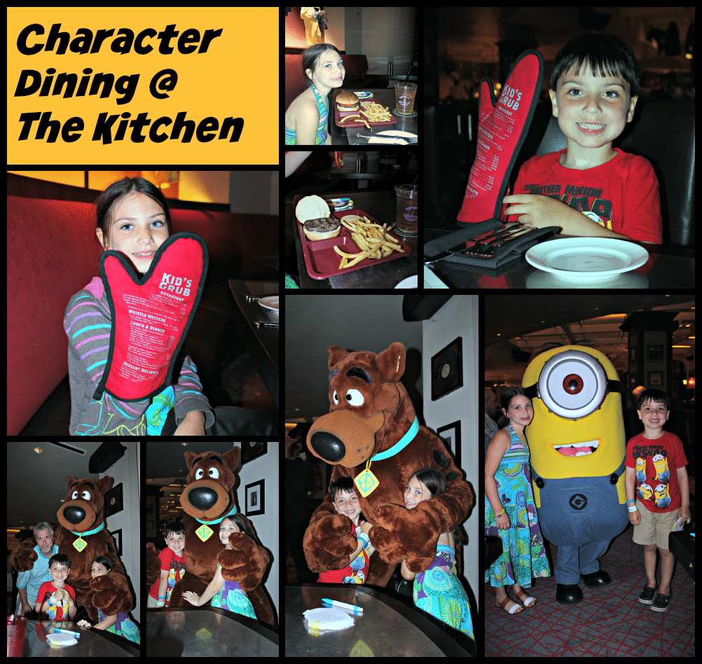 Character Dining The Kitchen Hard Rock Hotel #minion #scoobydoo #characterdining #universaldining #thekitchen #travelreview #universalmomments