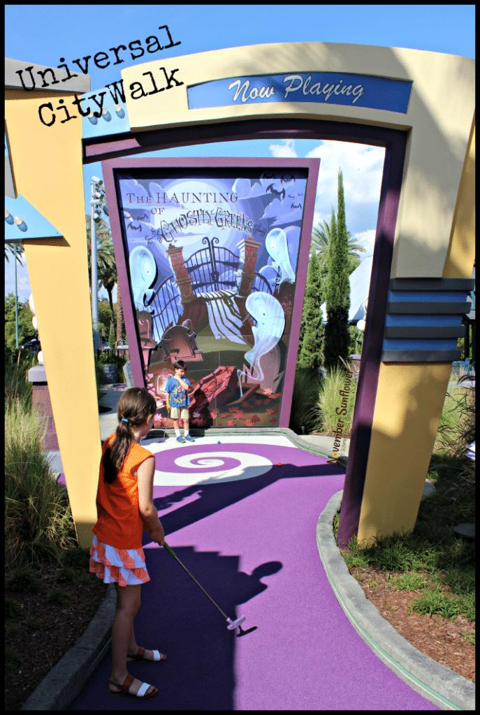 Universal CityWalk #minigolf #universalmoments #travelreview