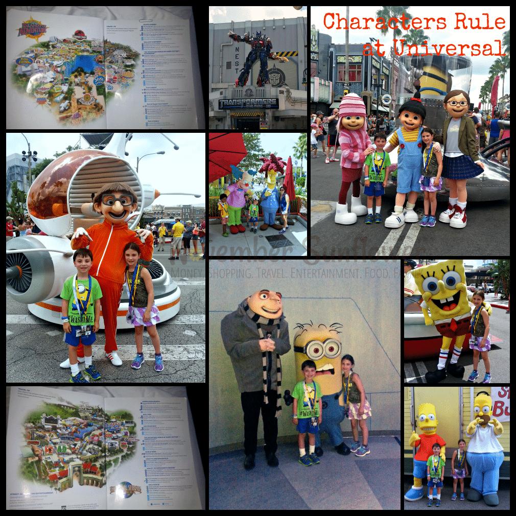Universal Studios Characters #universalmoments #familytravel #travelwithkids
