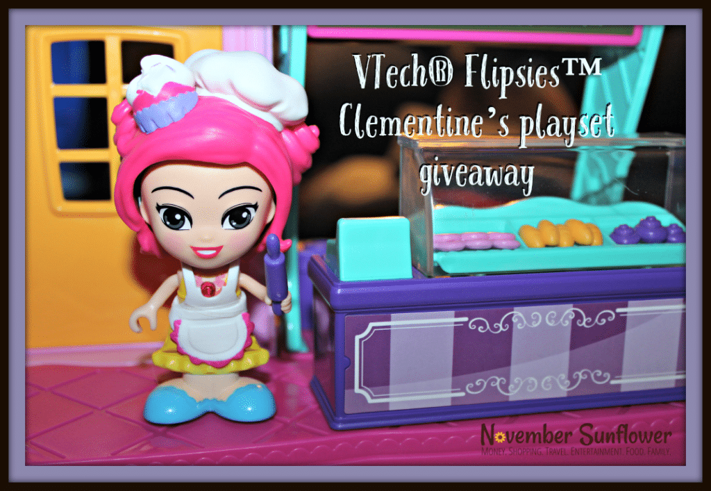 VTech Flipsies Clementine Playset