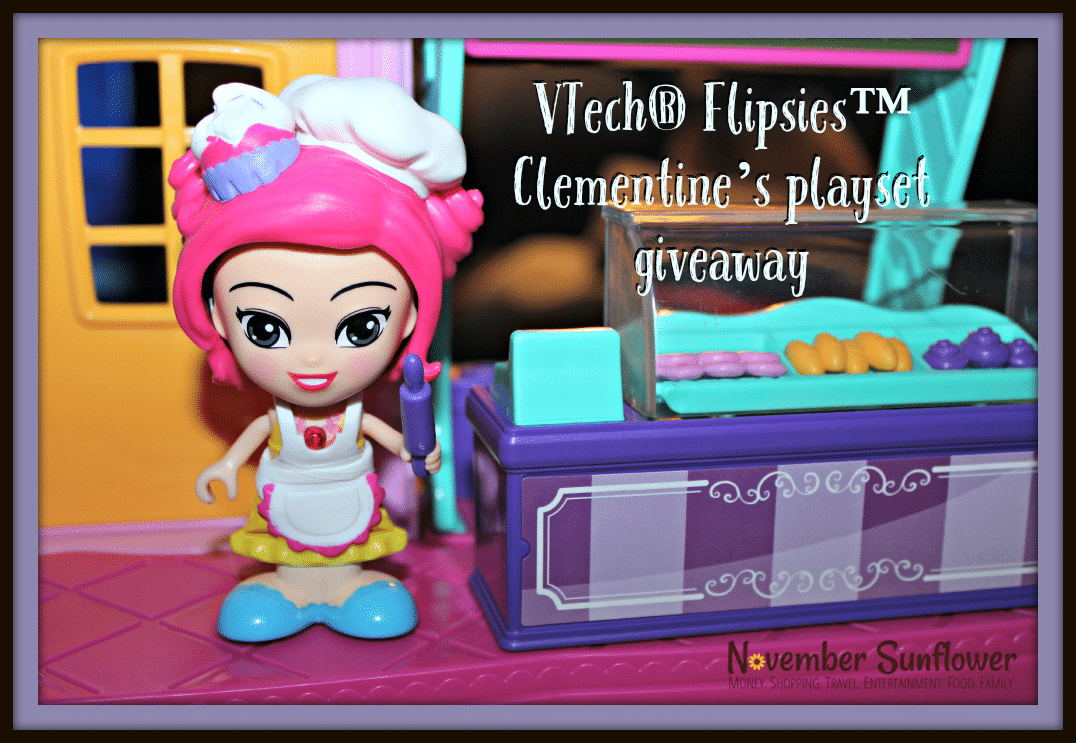 VTech Flipsies Clementine Playset Giveaway #flipsies #vtechtoys #vtechflipsies #giveaway #toyreview #toygiveaway