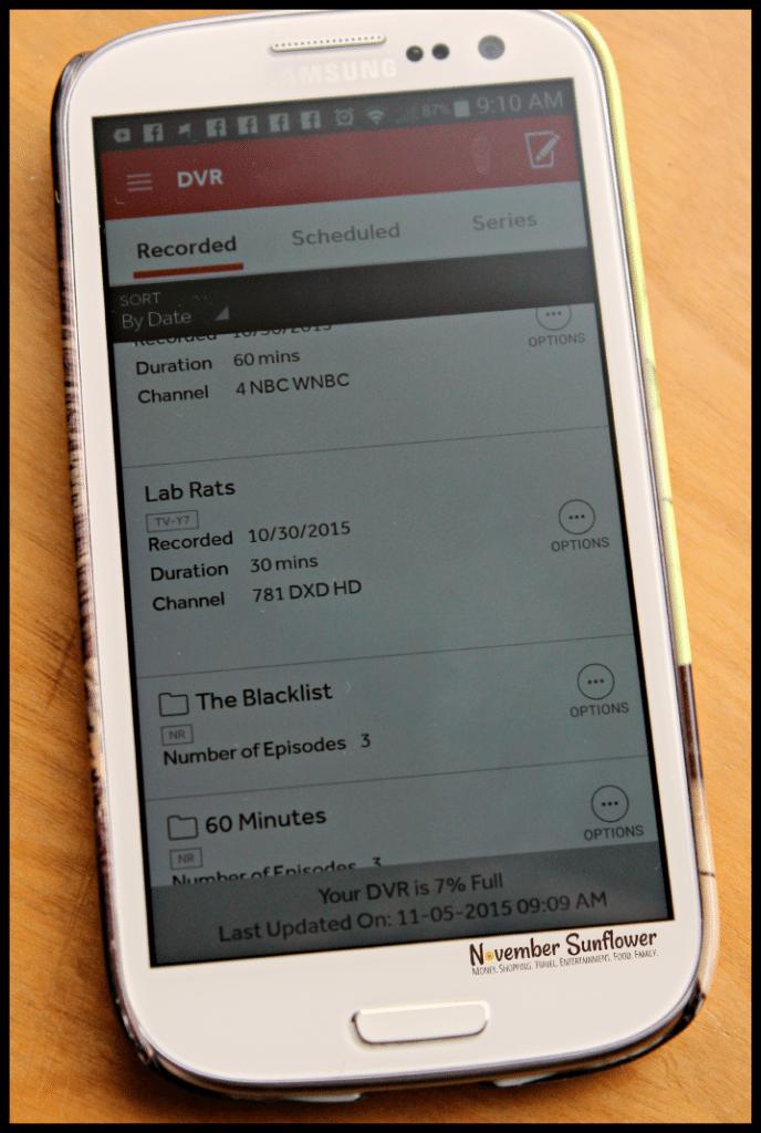 FiOS Mobile App DVR #FiOSNY #LifeOnFiOS #ad