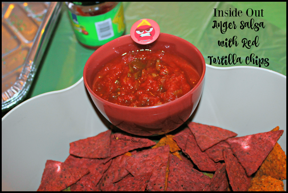 Inside Out Anger Snack #InsideOut #anger