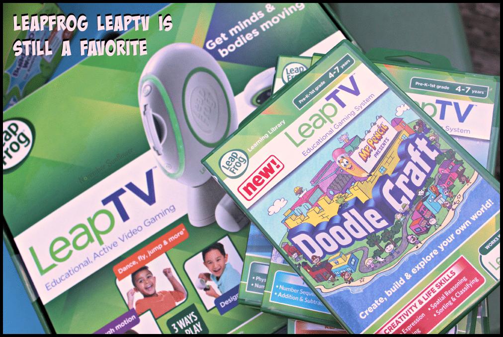 LeapFrog LeapTV is still a favorite #LeapFrog #LeapFrogMomSquad #LeapTV #toys