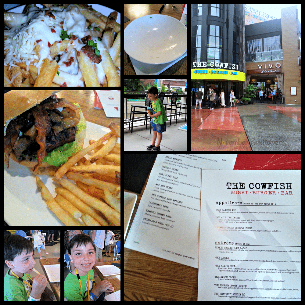 Final Dinner at Family Forward #Vivo #TheCowfish #foodie #sponsored #familyforward