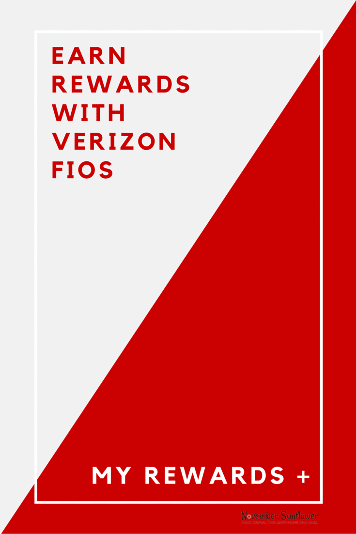 Earn rewards with Verizon FiOS My Rewards+ #FiOSNY #rewards [sponsored]