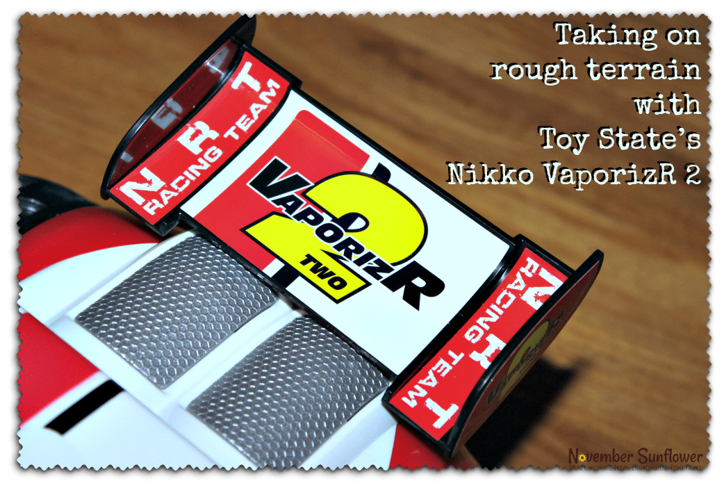 Taking on rough terrain with Toy State's Nikko VaporizR Two #toyreview [sp]