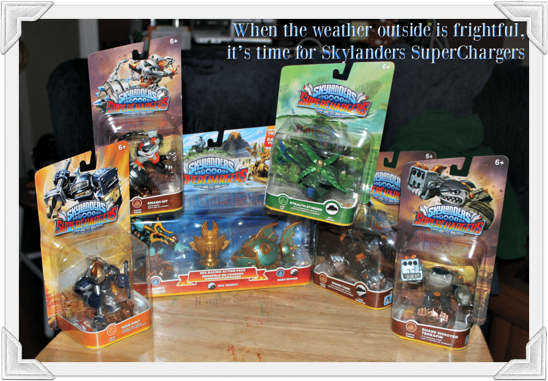 When the weather outside is frightful, it's time for Skylanders SuperChargers #skylanders #superchargers #gamer [sp]