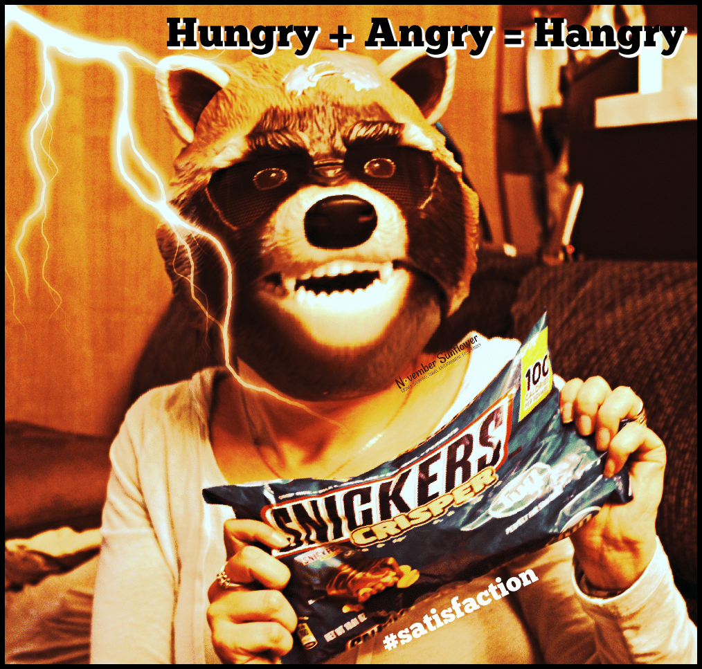Hangry without my FUN SIZE SNICKERS Crisper #satisfaction [ad]