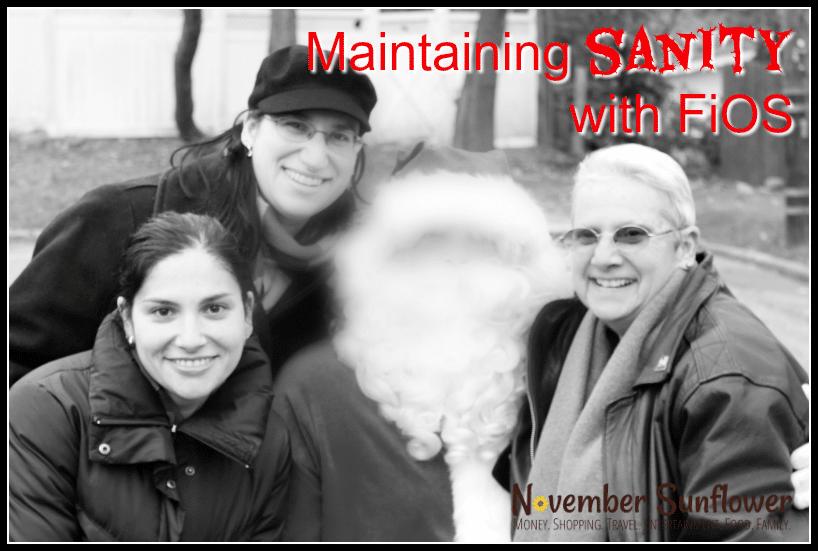 Maintaining Sanity with FiOS #VerizonFiOS #FiOSNY [ad]