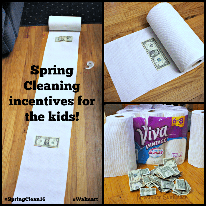 Incentives for the kids so they want to Spring Clean #SpringClean16 #walmart [ad]