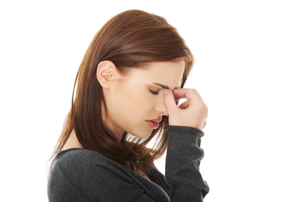 Sinus allergies or something else? #sinusinfection #health #allergies
