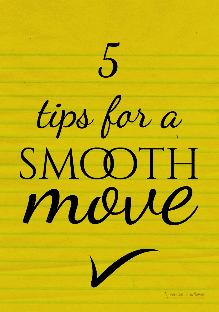 5 tips for a smooth move [ad]