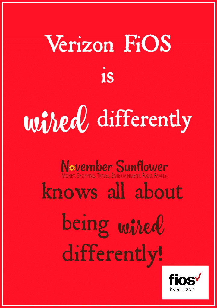 Verizon FiOS is wired differently
