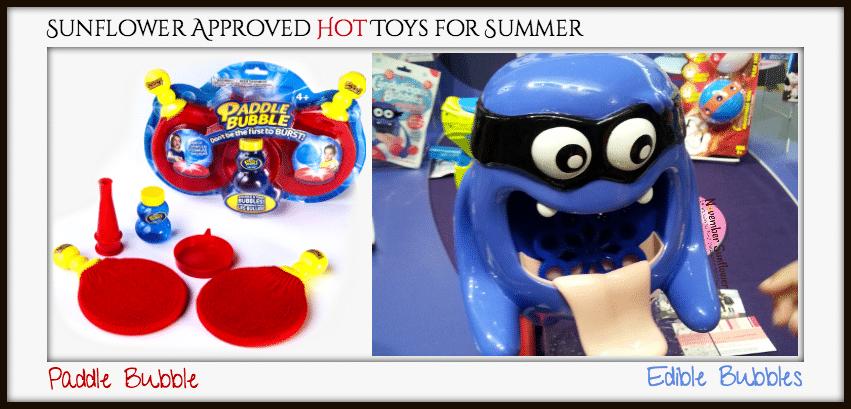 Hot Bubble Toys from TTPM Spring Showcase Paddle Bubble Edible Bubbles