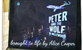 Peter and the Wolf in Hollywood brought to life by Alice Cooper [spons] PeterAndTheWolfApp