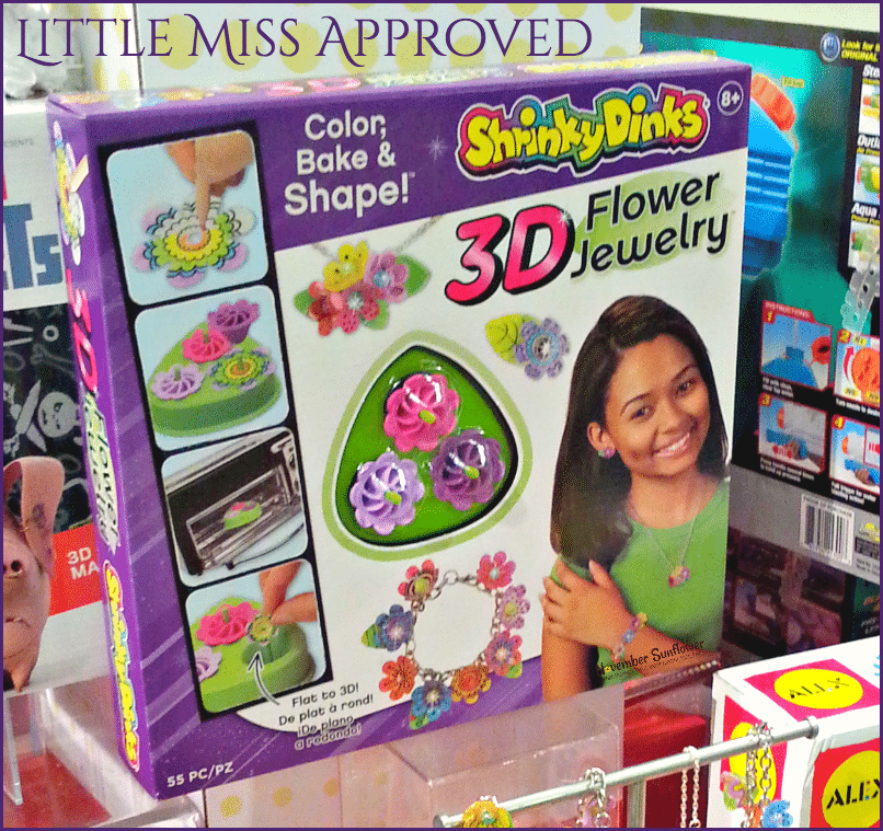 Shrinky Dinks 3D Flower Jewelry Hot Toy from TTPM Spring Showcase