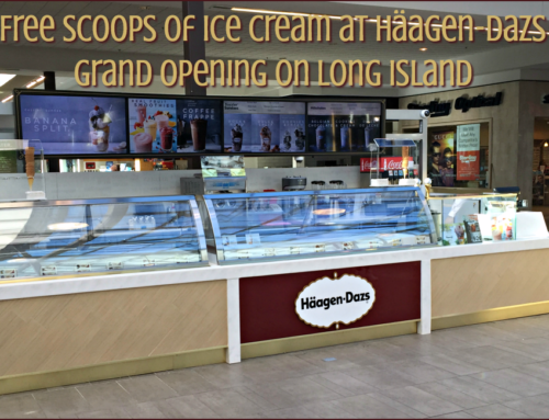 Free scoops of ice cream at Häagen-Dazs Shop grand opening on Long Island