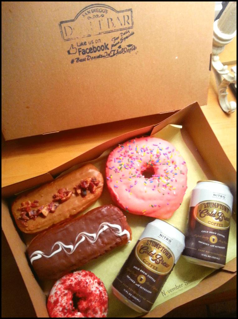 Donut Bar San Diego Boston Cream