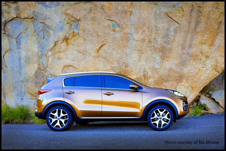 Kia Sportage 2017 Crossover vehicle