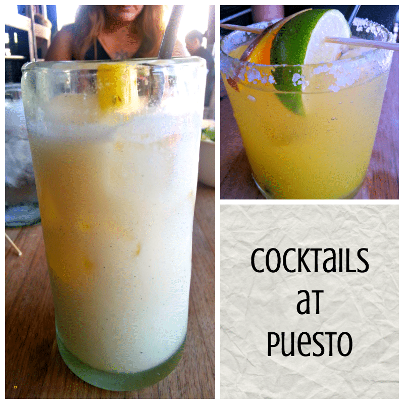 Puesto San Diego Pina Colada cocktail