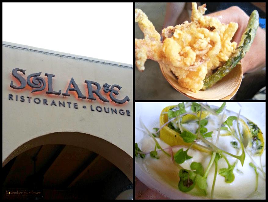 Solare Ristorante Lounge San Diego Food Travel