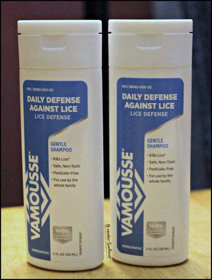 Vamousse Lice Defense for Back to School