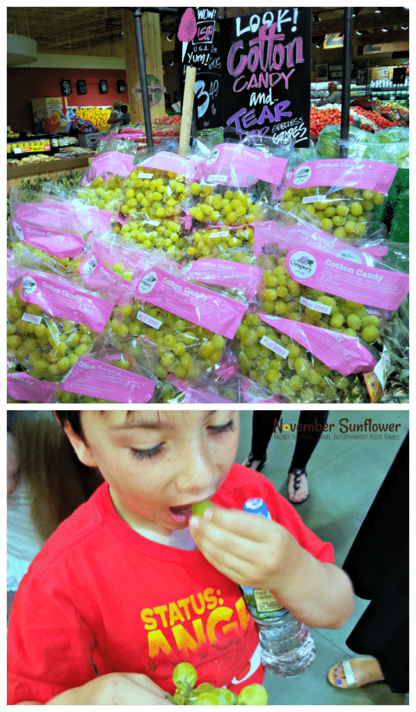 Stew Leonard's Cotton Candy Grapes
