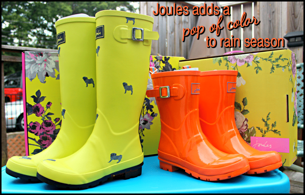 Joules adds a pop of color to rain season