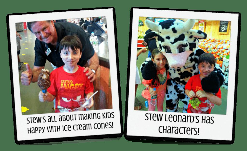 Stew Leonard's Ice Cream & Characters