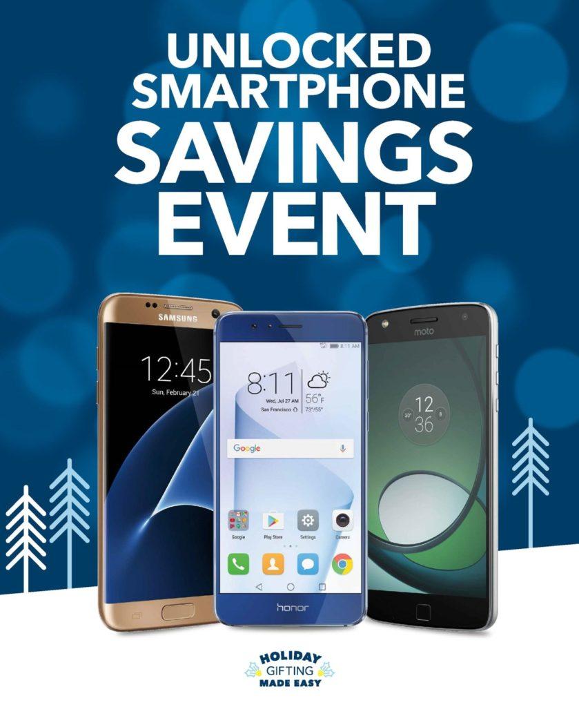 Unlocked Smartphone savings event at Best Buy [sponsored]