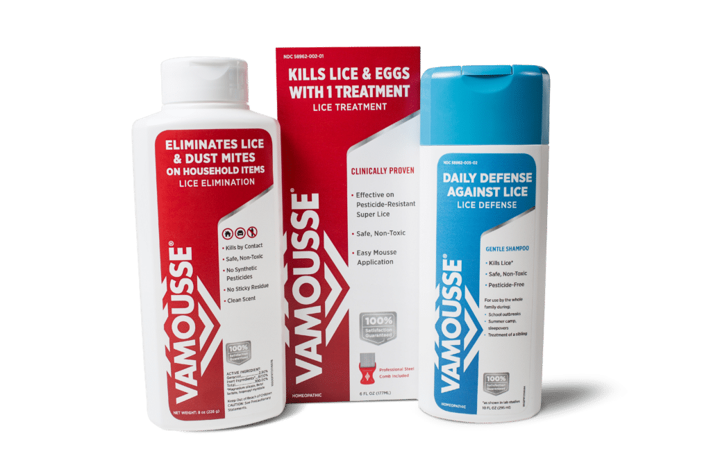 Stop lice in its tracks with Vamousse lice products [sponsored]