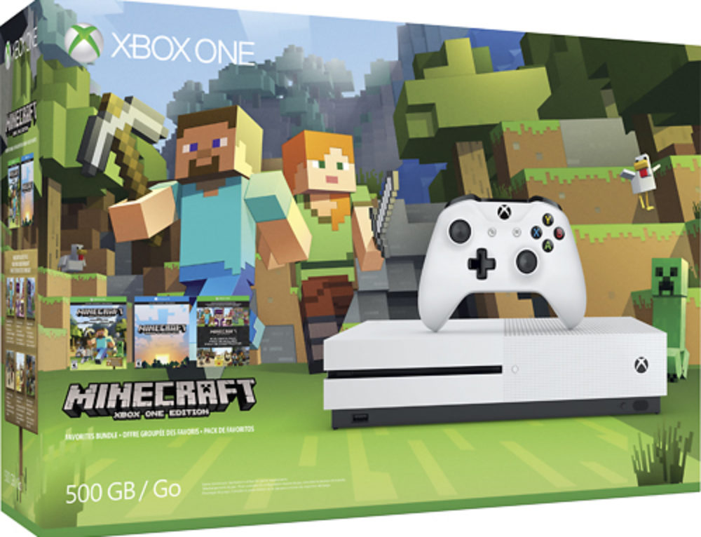Minecraft Xbox One S console & other Minecraft products at Best Buy