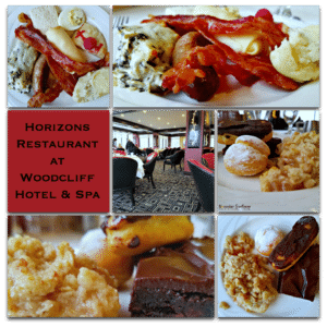 Horizons Restaurant at Woodcliff Hotel & Spa Food Travel