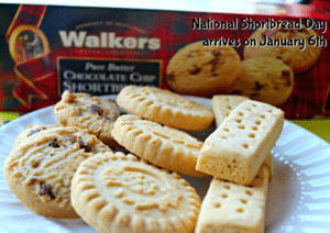 National Shortbread Day arrives on January 6th [sponsored]