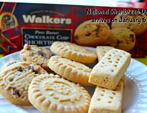 National Shortbread Day arrives on January 6th