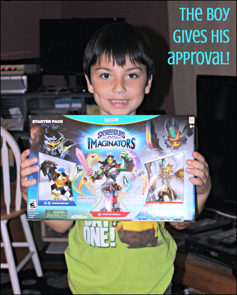 Wii U Skylanders Imaginators from ActiVision
