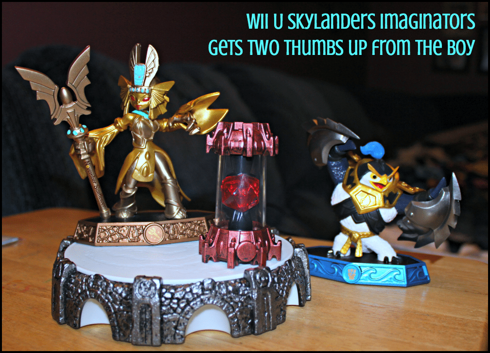 Wii U Skylanders Imaginators gets two thumbs up from The Boy [sponsored]