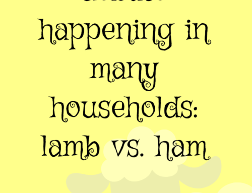 Easter dinner debate happening in many households: lamb vs. ham