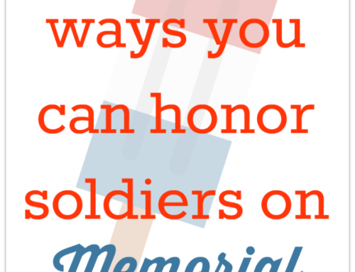 Different ways you can honor soldiers on Memorial Day