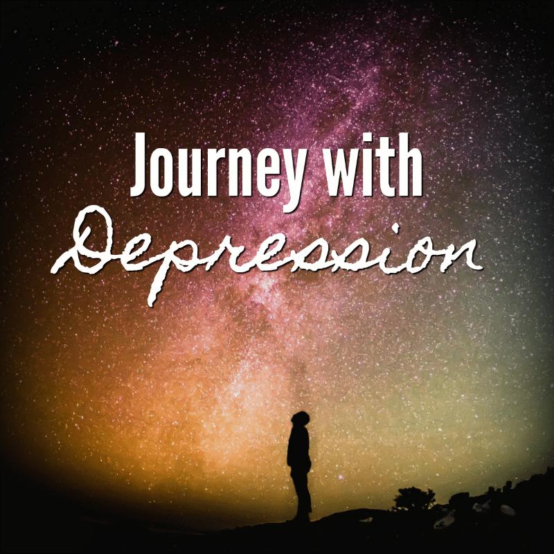 Journey with Depression on November Sunflower