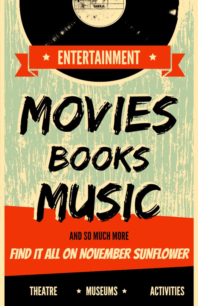 Entertainment found on NovemberSunflower.com