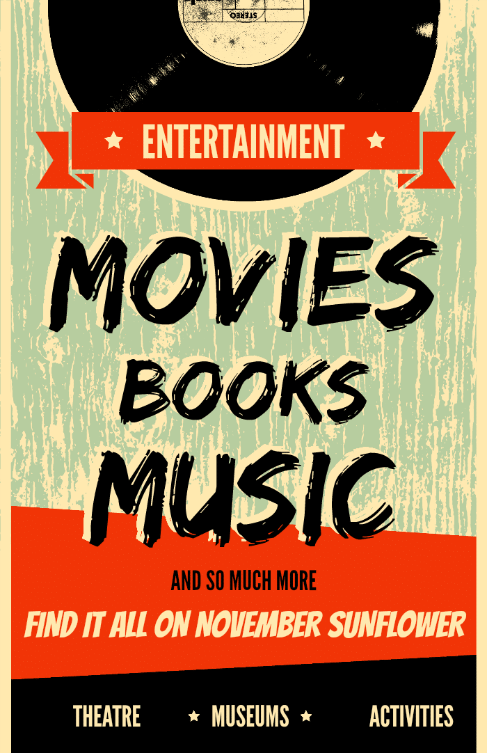 Entertainment encompasses more than just movies, music and television.