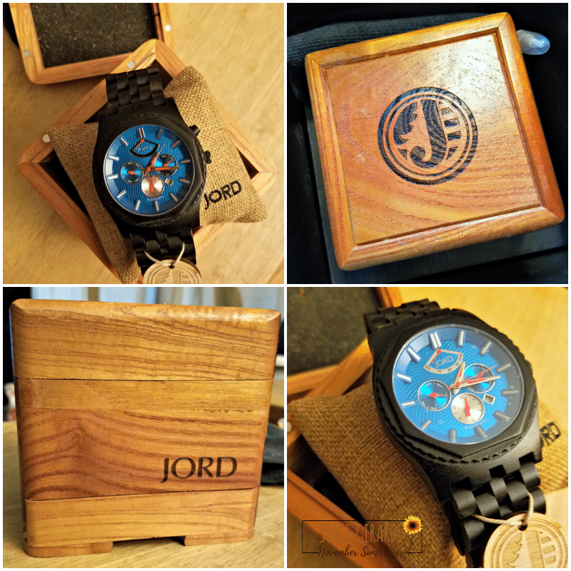 JORD Wood Watch for Dad on Father's Day