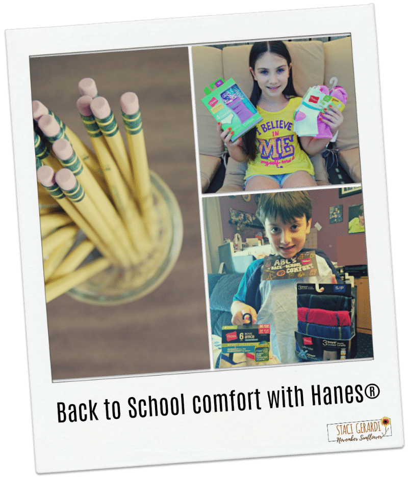 Back to School comfort with Hanes
