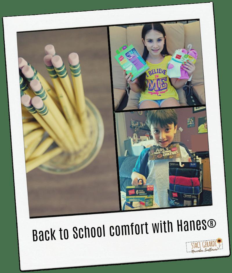 Back to School comfort with Hanes