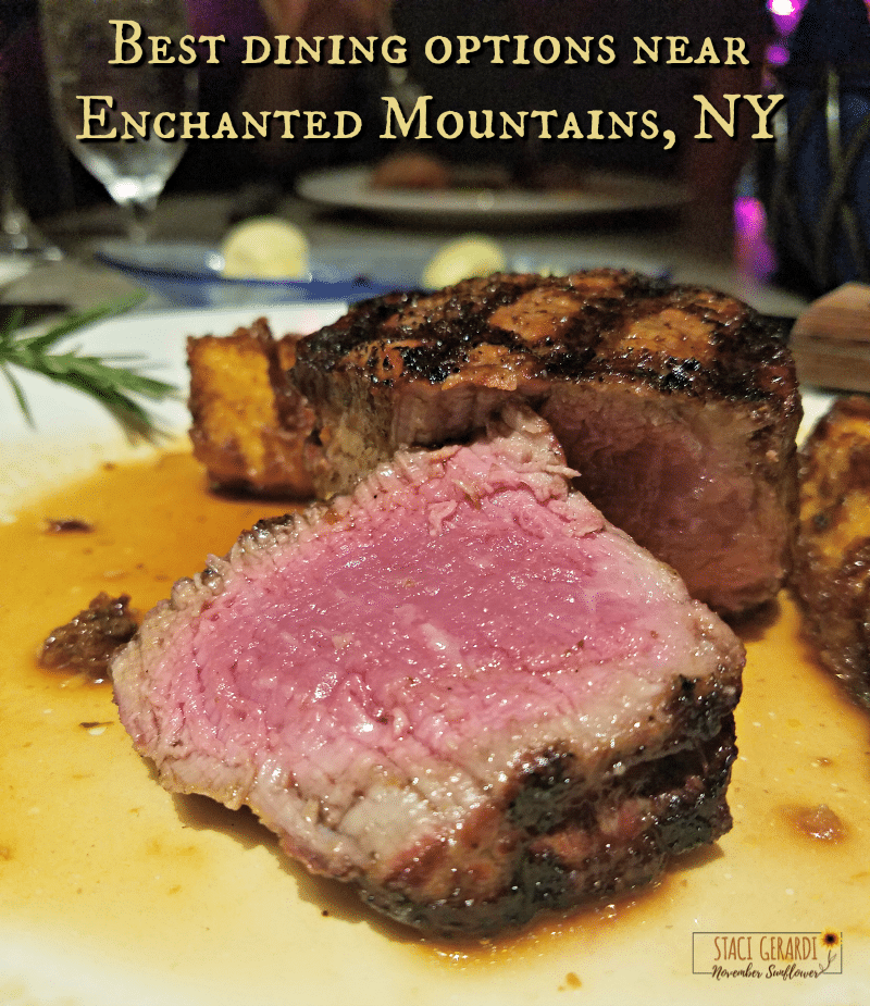 Best dining options near the Enchanted Mountains of New York