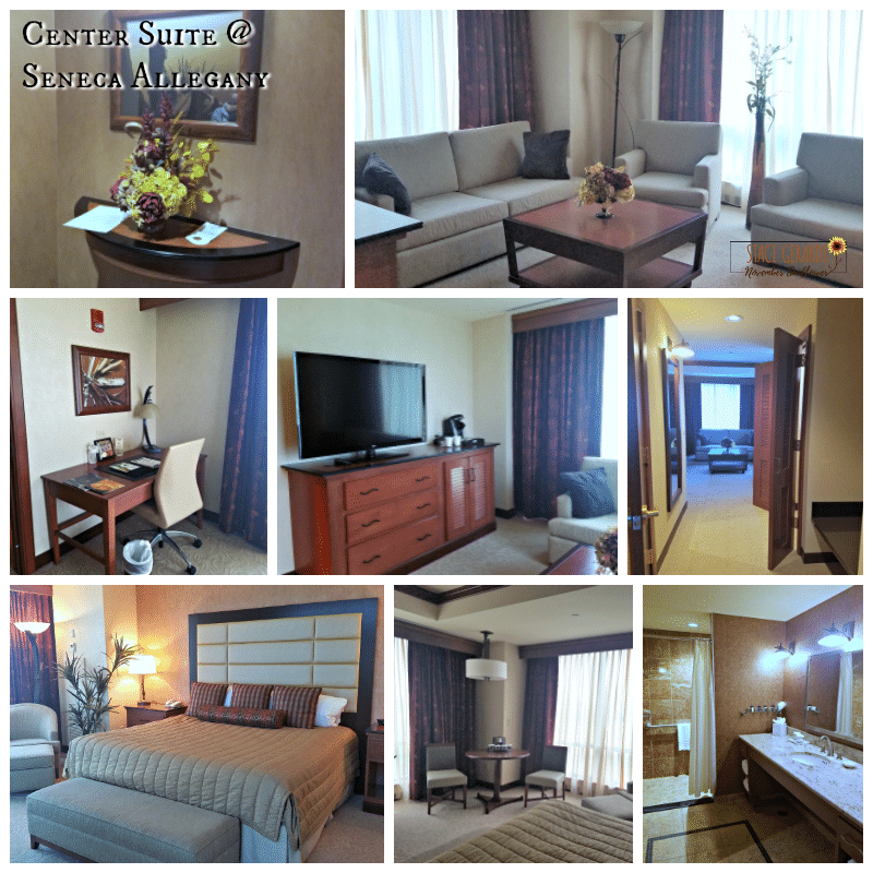 Center Suite at Seneca Allegany Resort & Casino